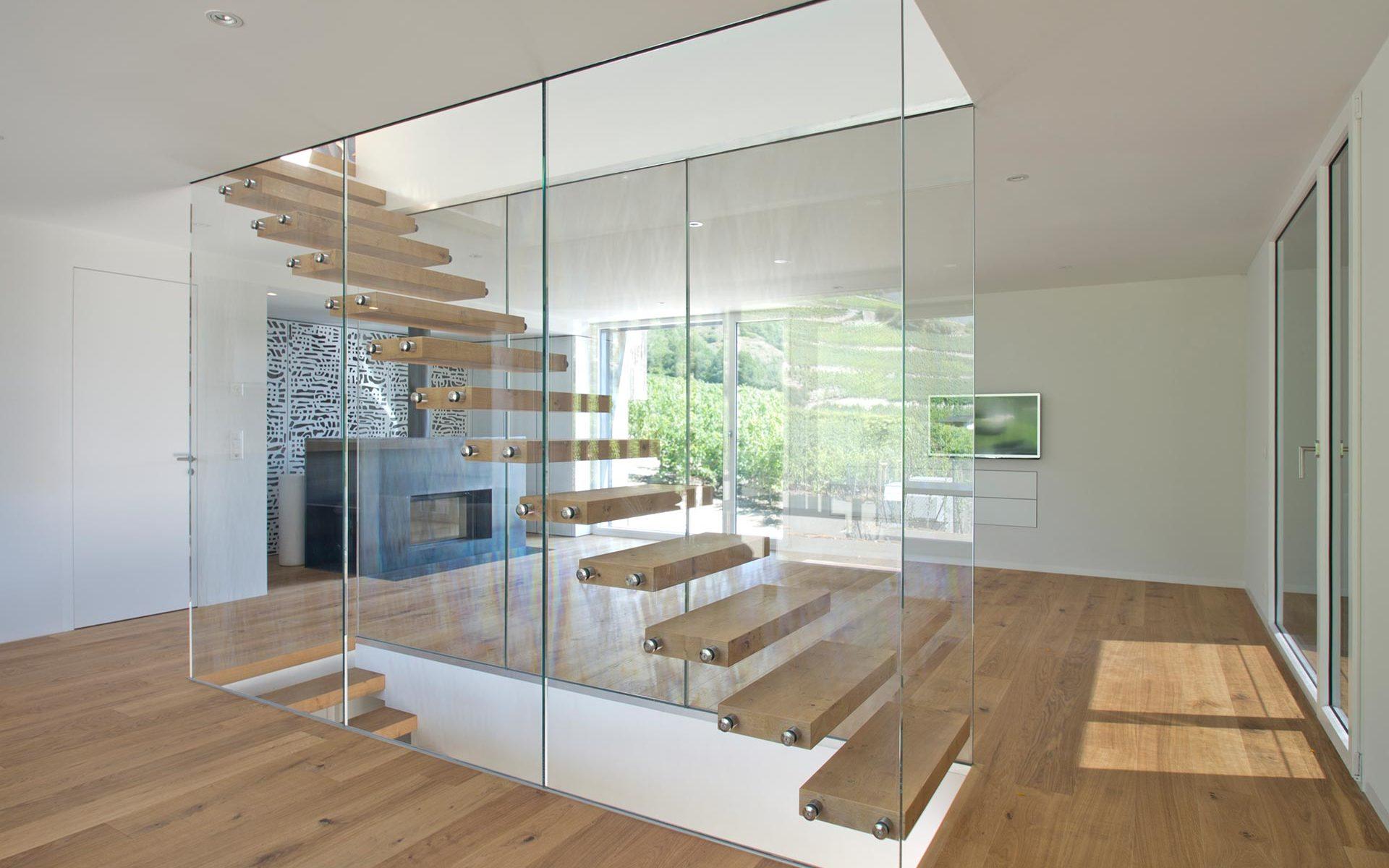 escalier_verre_chêne