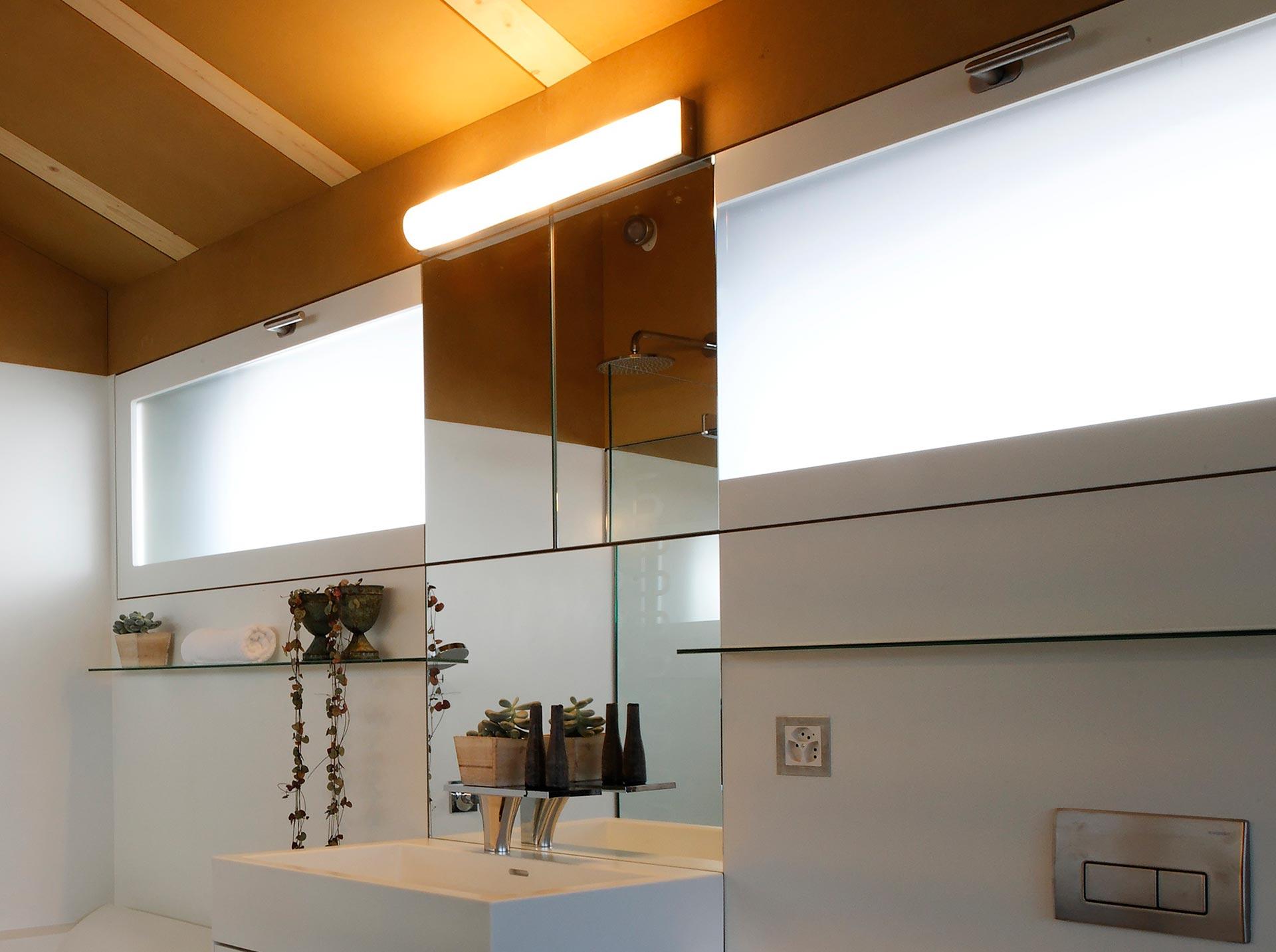 staron miroir - Rénovation d'un Raccard