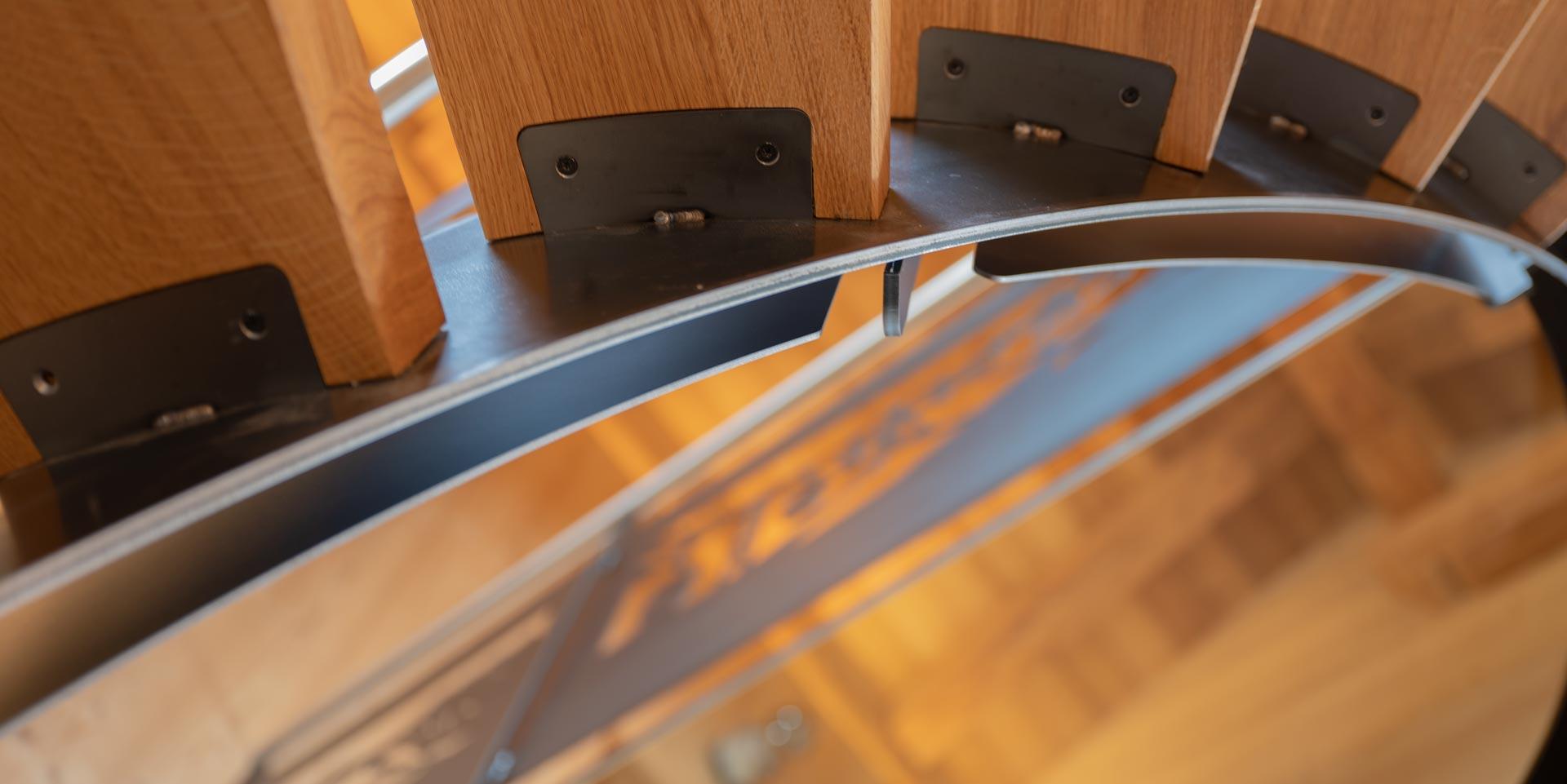 escalier chêne acier naturel 002