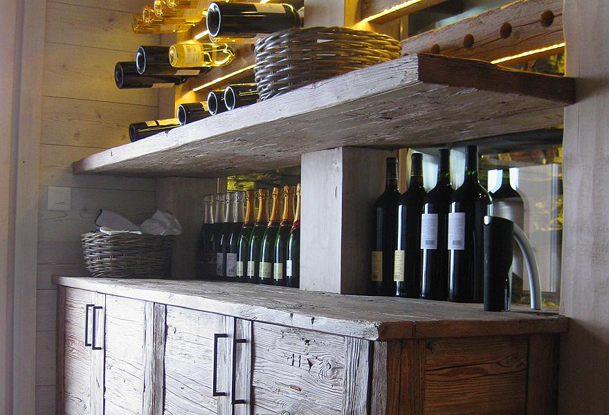 1 - Agencement cave à vin